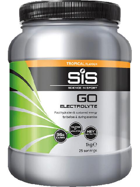 SiS GO Electrolyte Drink Dose 1kg Tropical